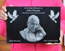 Image 4 of Personalised Laser Engraved Memorial Plaque