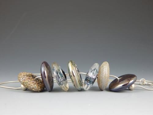 Image of Artisan Glass  • Metallic Disks