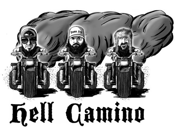 Image of HCIII Rollin' with Hell Camino Shirt