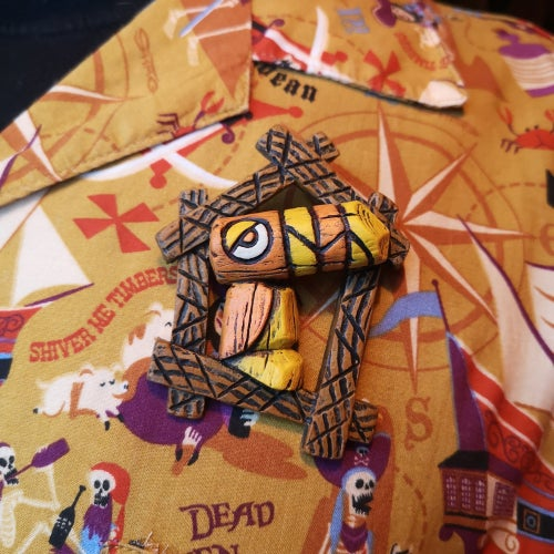Image of Tiki tOny's Toucan brooch