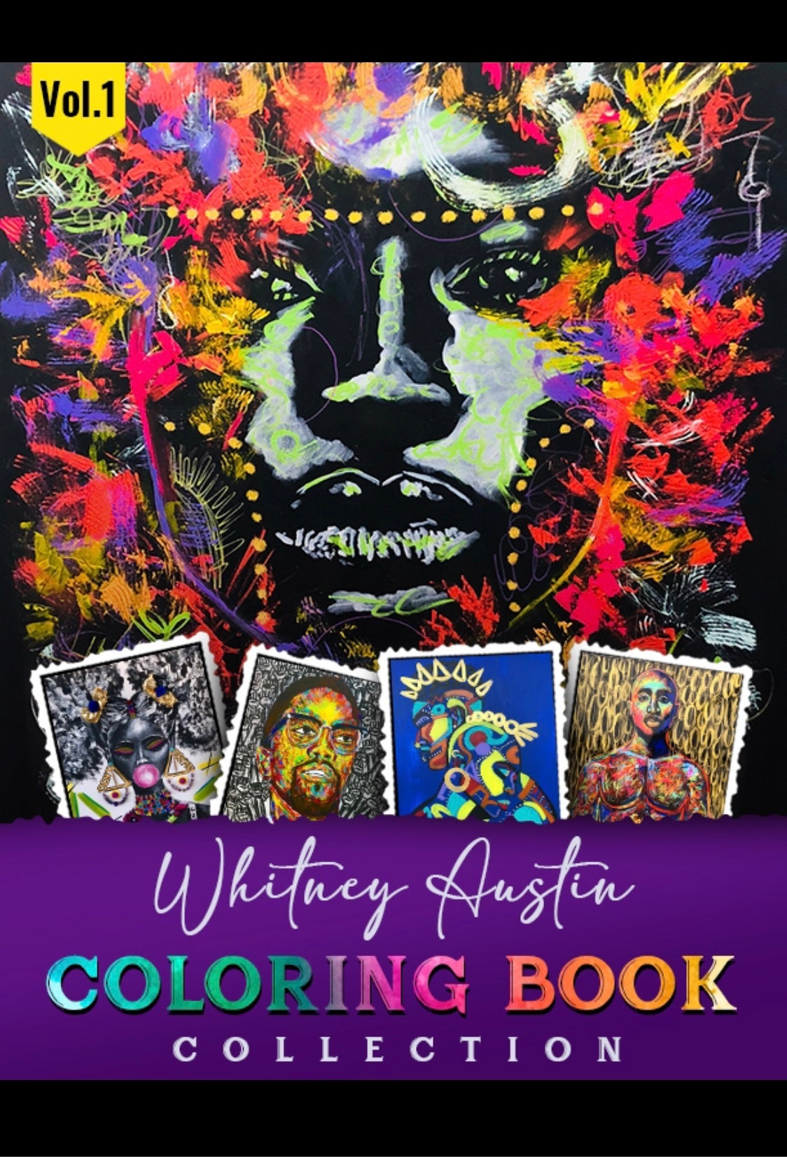 """Image of Whitney Austin """"COLORING BOOK COLLECTION"""" Volume 1"""