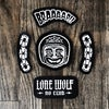 Assorted Canvas Patches | Chain Links | Braaap! | Lone Wolf No Club