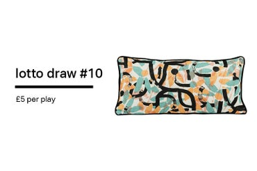 Image of Lotto Draw #10 Blossom 30 x 60 cm Cushion
