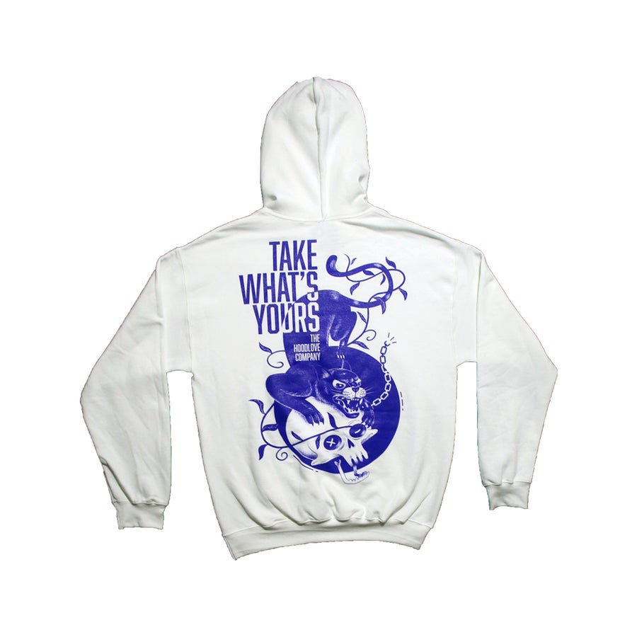 Image of Take What's Yours Hoodie (WHITE)
