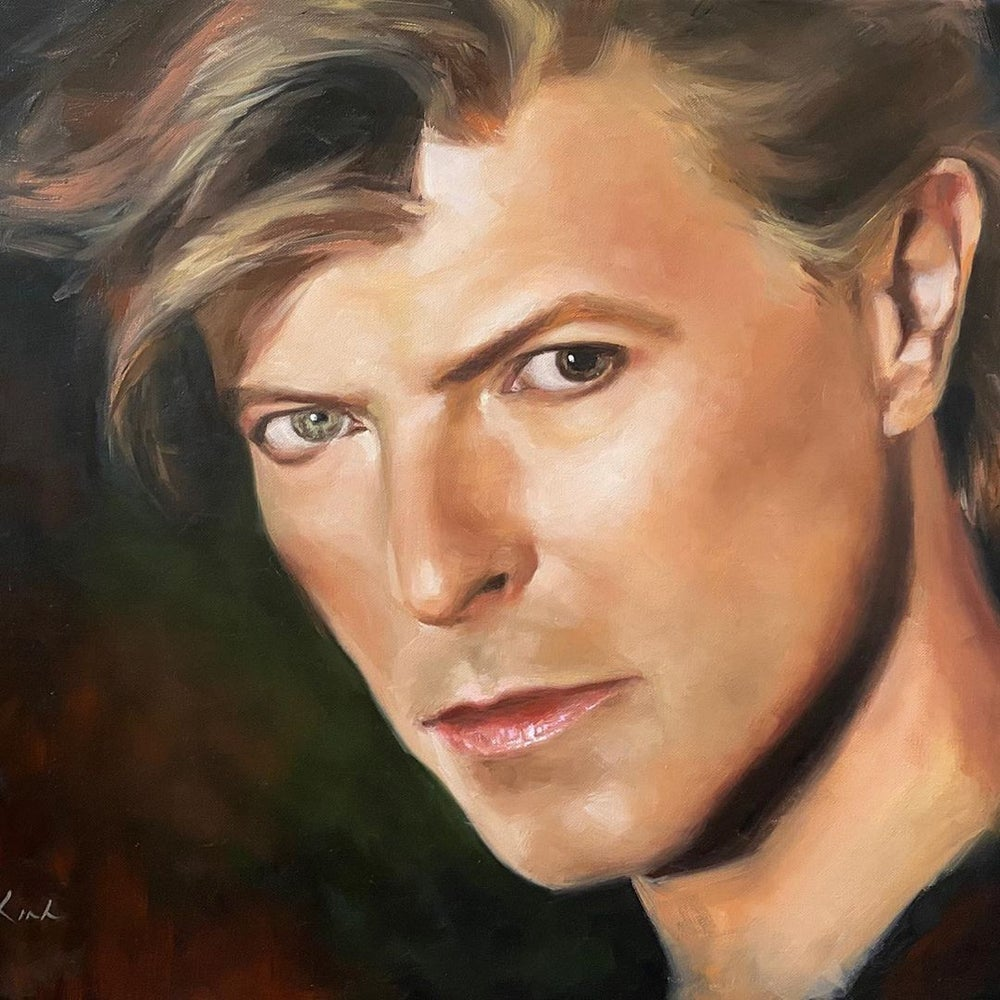 David Bowie Portrait (Original Oil Painting)