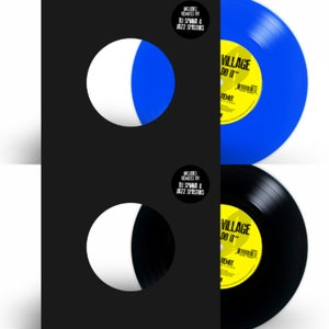 "Image of We Do It (DJ Spinna Remix) / We Do It (Jazz Spastiks Remix) 7"" [opaque blue+black vinyl bundle]"