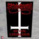 Possessed Seven Churches printed backpatch