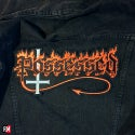 Possessed logo sewing backpatch