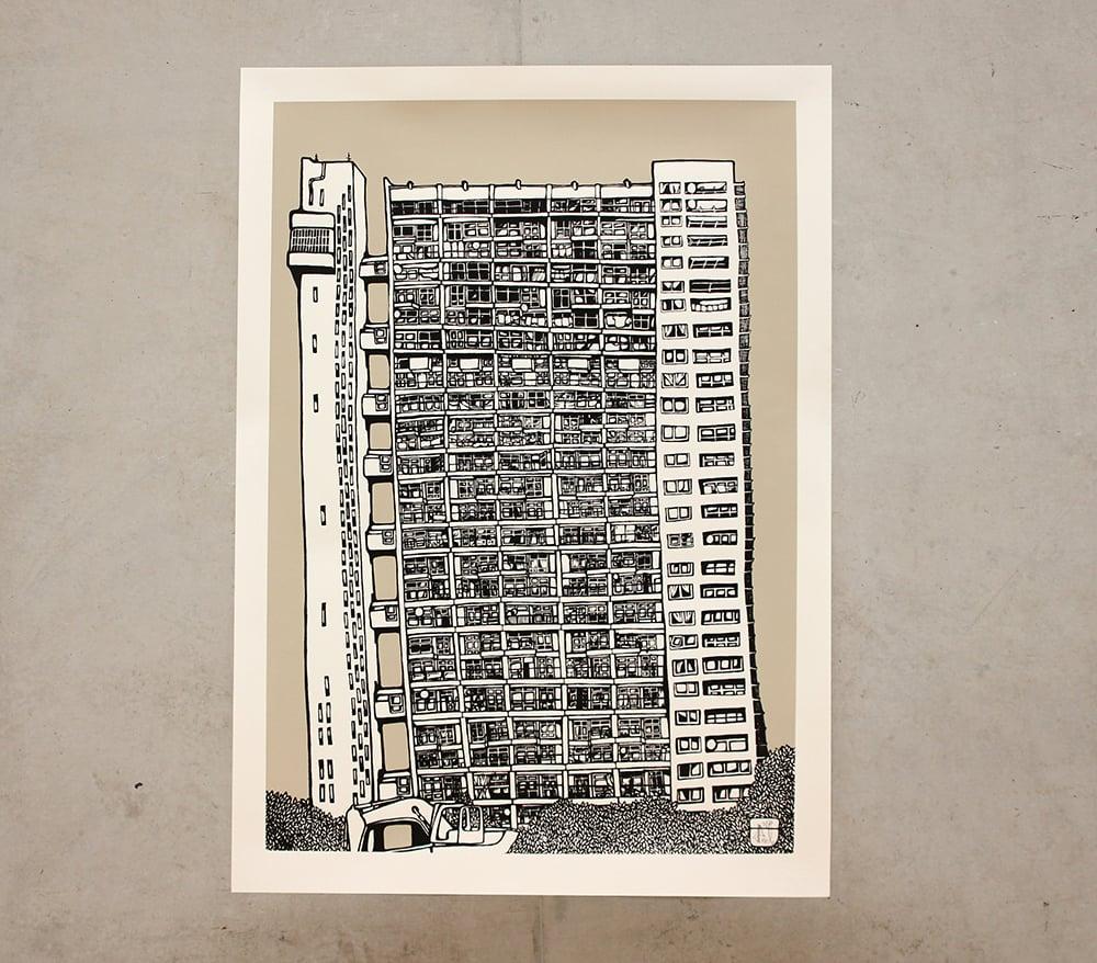 Image of Trellick Tower - Mizzle Grey