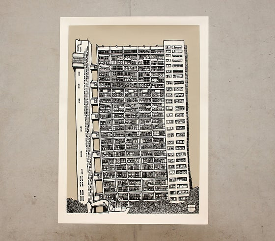 Image of Trellick Tower - Mizzle Grey