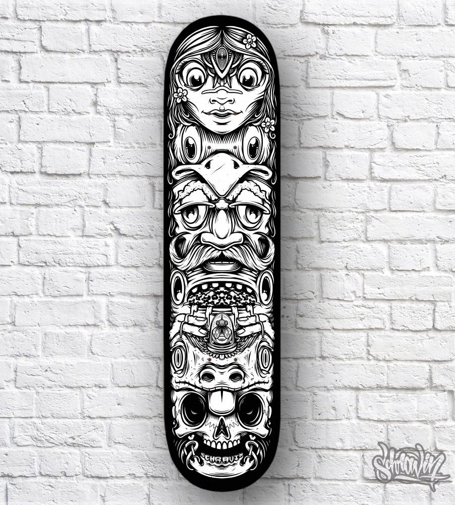 Image of Totem Skate Deck