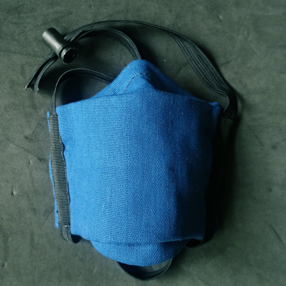 Image of Cotton Face Cover (BLUE)