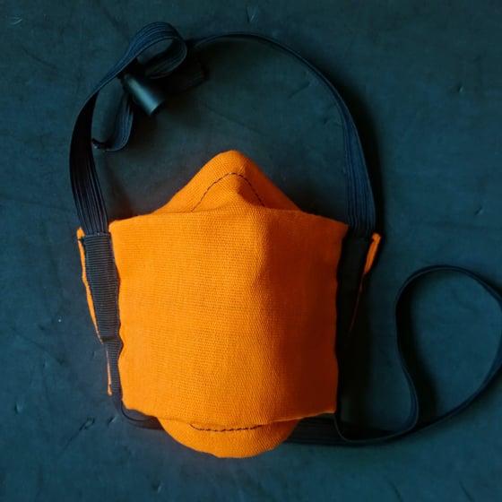 Image of Cotton Mask (Safety Orange)