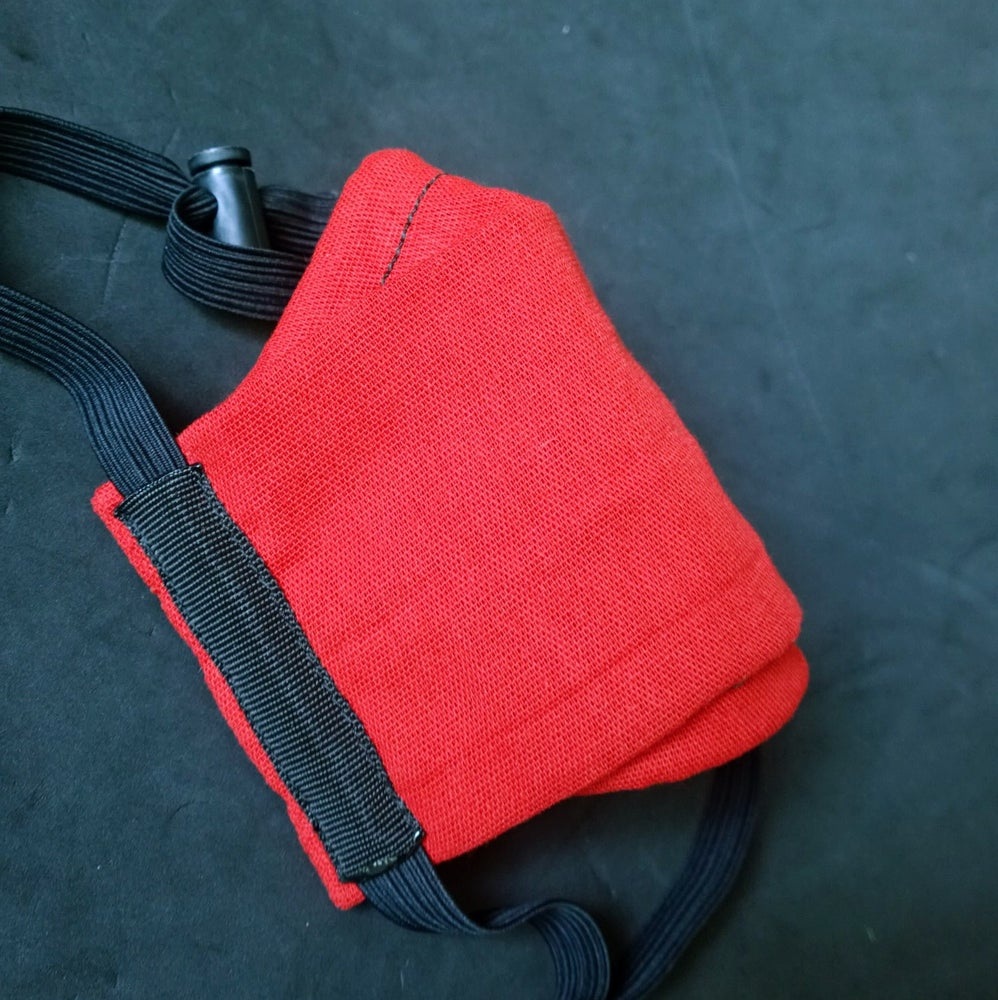 Image of Cotton Face Cover (RED)