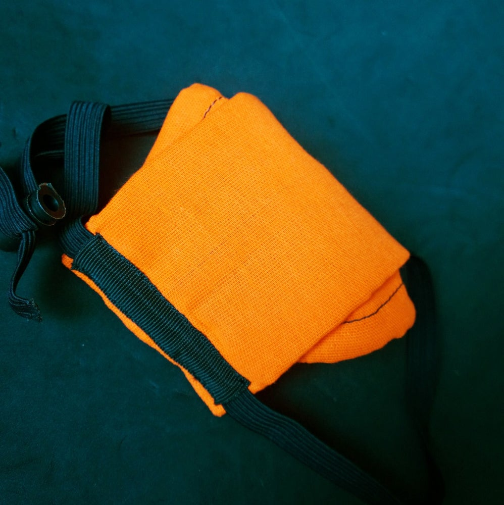 Image of Cotton Face Cover (SAFETY ORANGE)