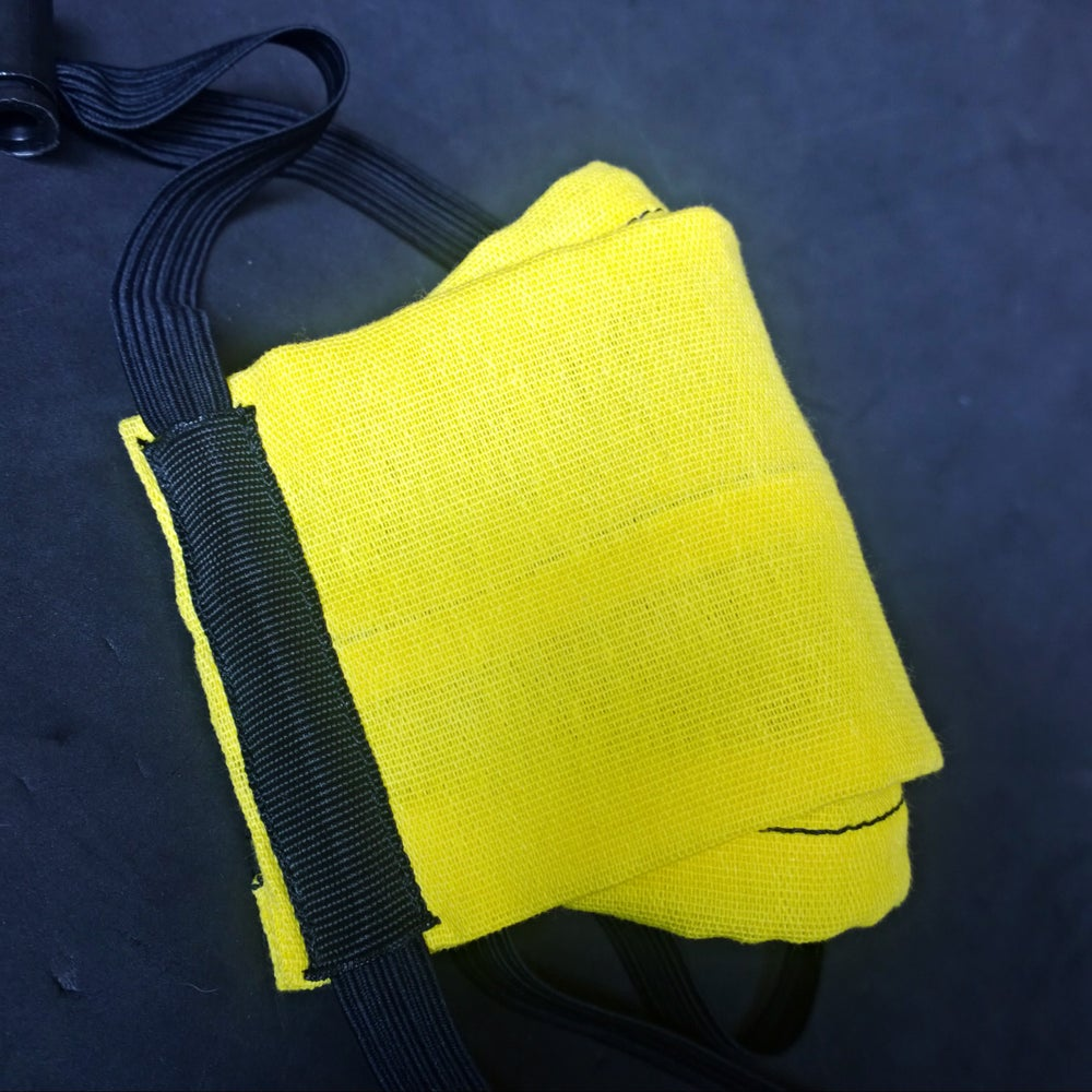Image of Cotton Mask (Yellow)
