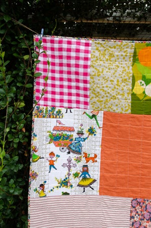 Image of Big Patch Quilt Pattern (PDF) - Includes instructions for Baby and Throw size