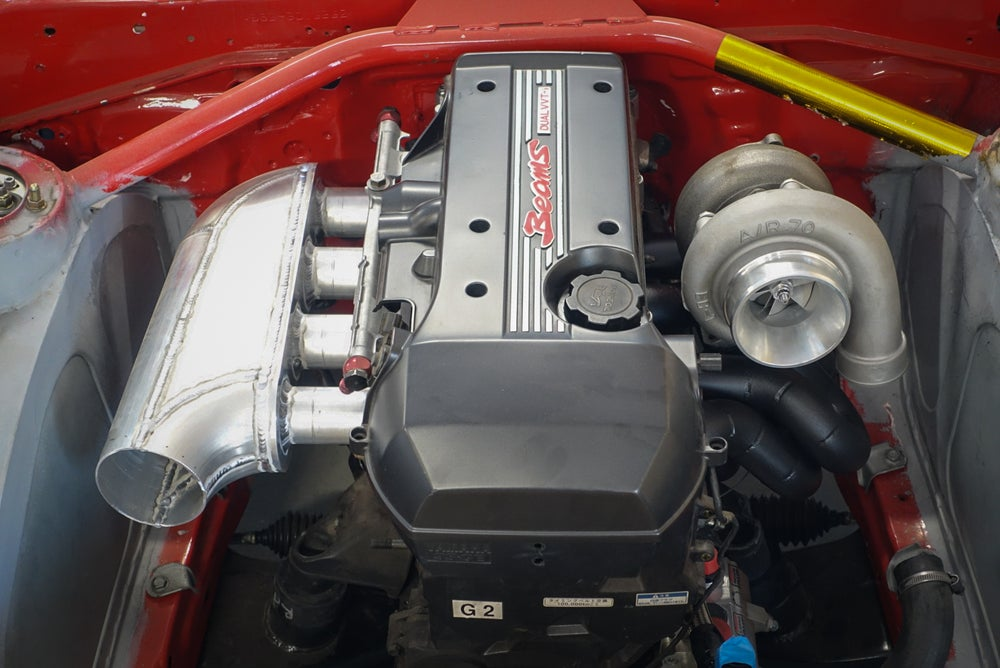 Image of 3SGE Beams top mount Turbo Manifold