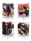 Star Wars-Galactic Files card series 2 (SW9-SW12)