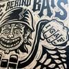 Life Behind Bars Lino Print