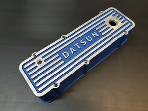 Image of Yoshinaga 'DATSUN' A Series Alloy engine cover