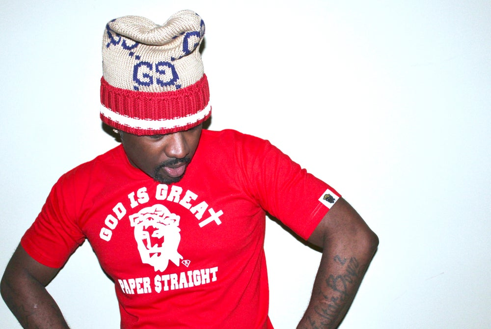 Image of GIGPS CHERRY RED LOGO TEE