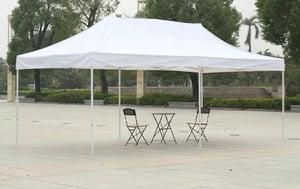 10 × 20 pop up tent