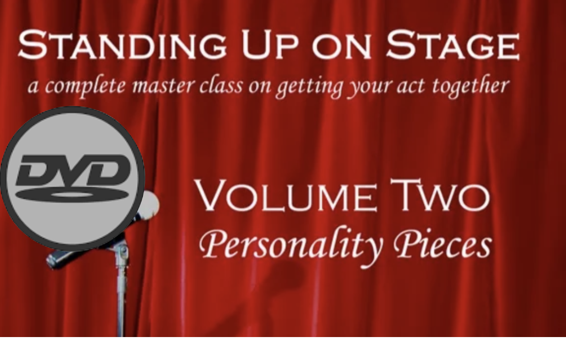 Image of Standing Up On Stage DVD Series - VOLUME TWO