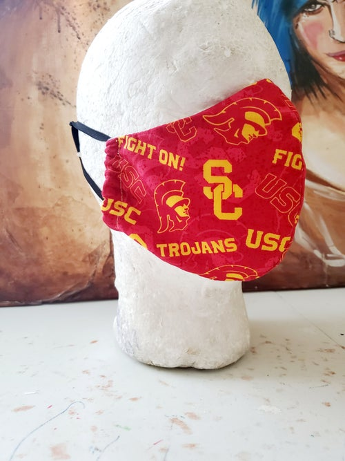 Image of USC Fitted Face Mask