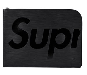 Image of Louis Vuitton x Supreme Pochette Jour  Black