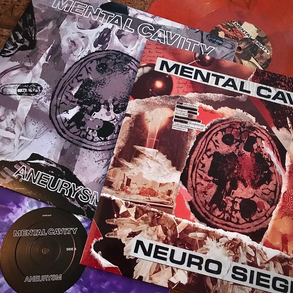 """Mental Cavity - 12"""" Colour Vinyl Bundle."""