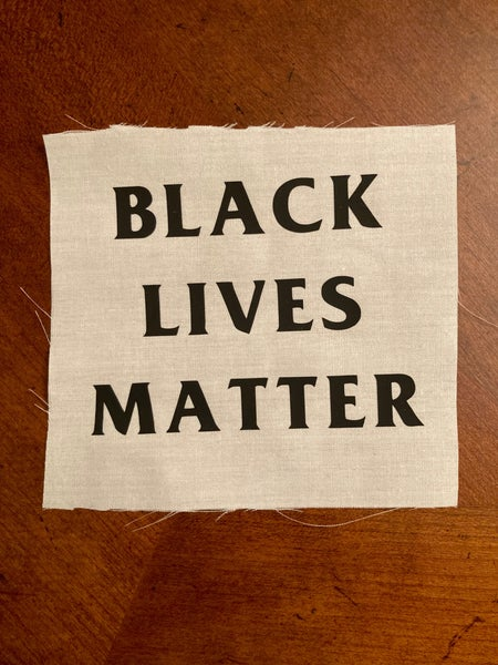 Image of Black Lives Matter Canvas Patch