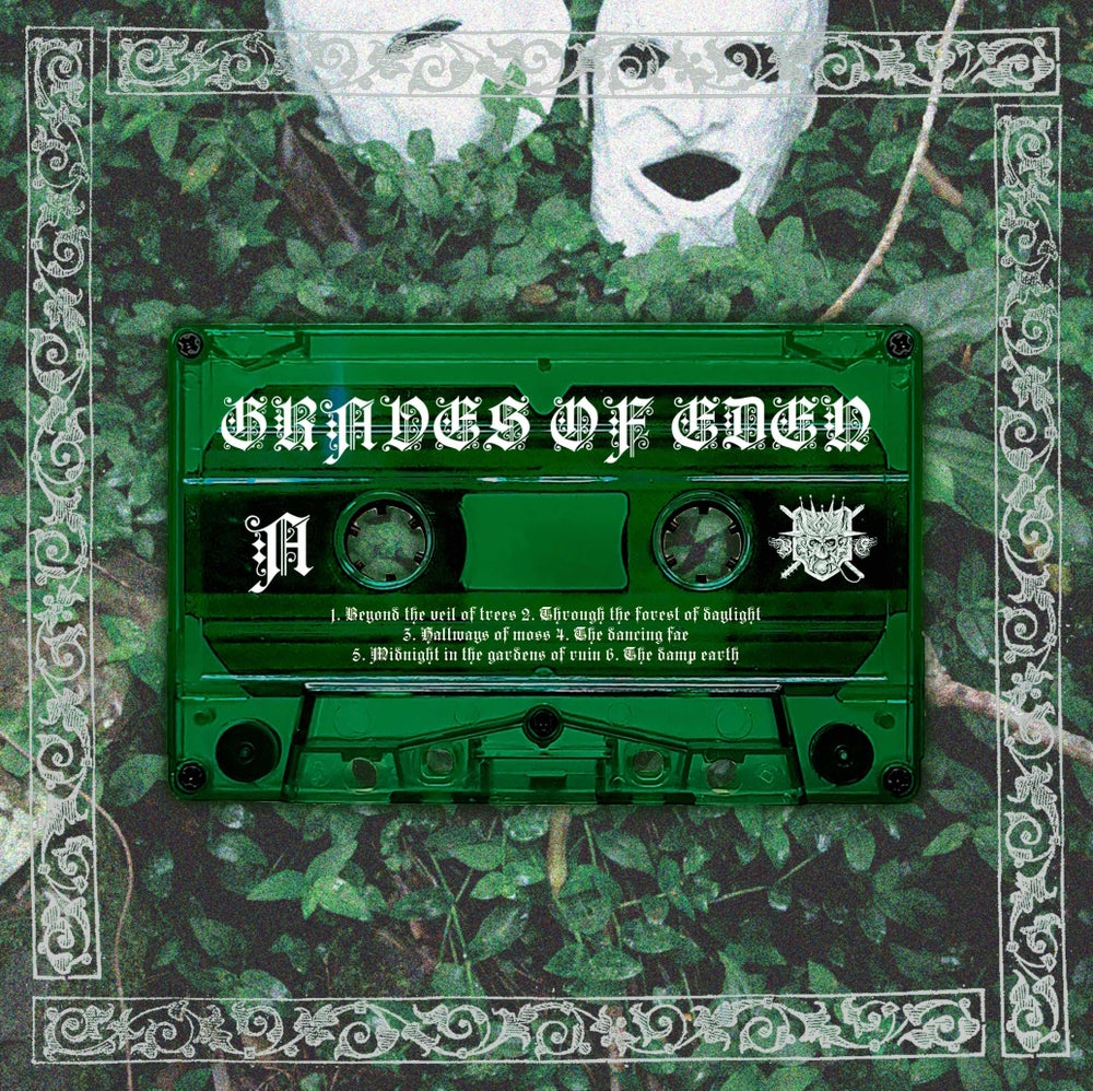 Graves Of Eden / Midlund  'Split MMXX' Pro​-​tape