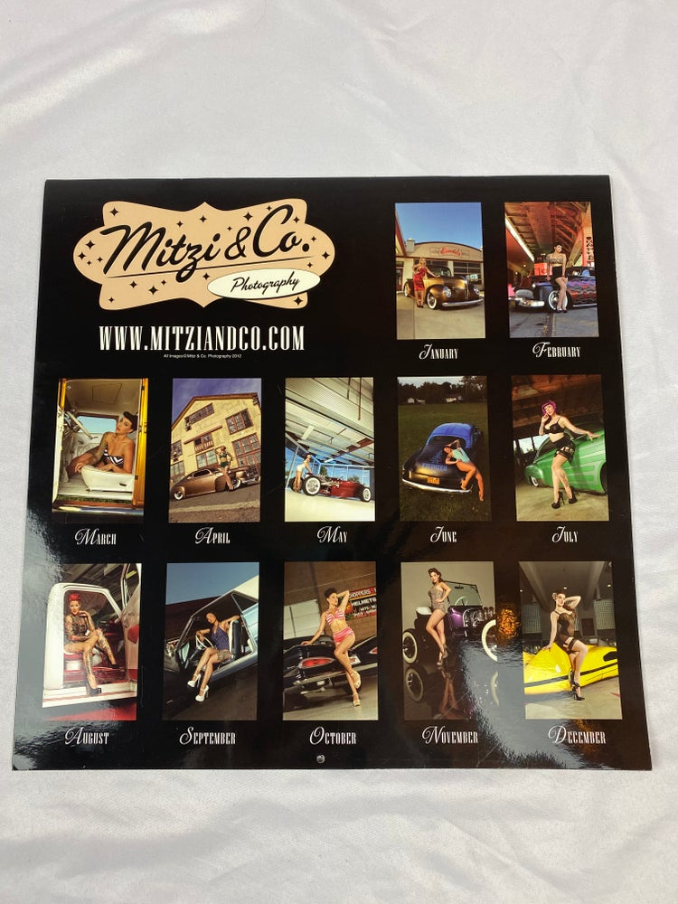 Image of ARCHIVE - Mitzi & Co 2013 Pinup Calendar ONLY 4 AVAILABLE