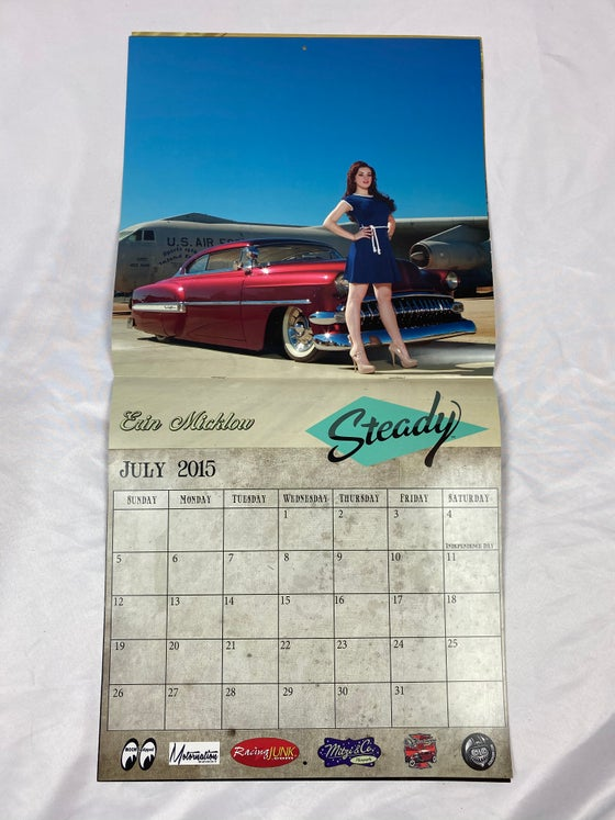 Image of Only 3 available! ARCHIVE: 2015 Steady Clothing Calendar - ONLY 3 AVAILABLE
