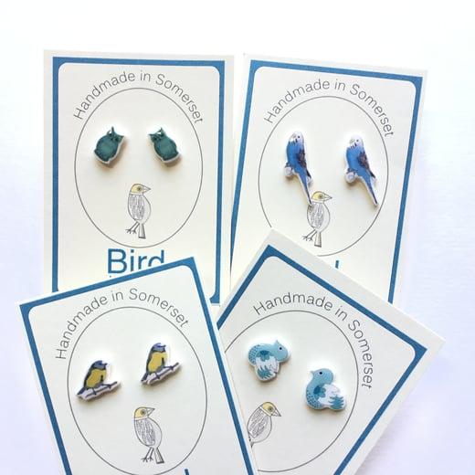 Bird Modern Vintage -Earrings Bird Collection