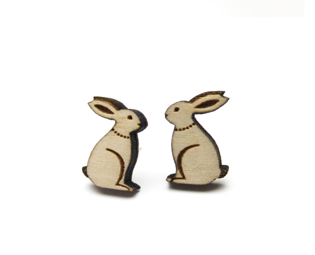 Image of Hares Earrings by Layla Amber