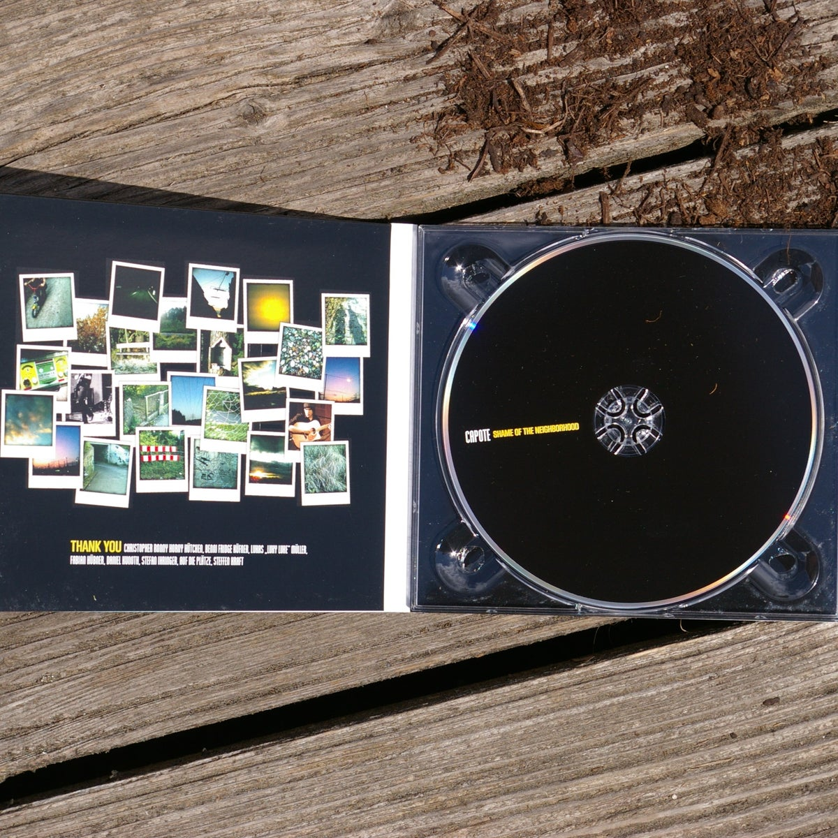 Capote - Shame Of The Neighborhood - EP CD
