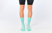 Image of FINGERSCROSSED Classic Cycling Socks CELESTE