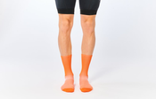 Image of FINGERSCROSSED Classic Cycling Socks MANDARINE
