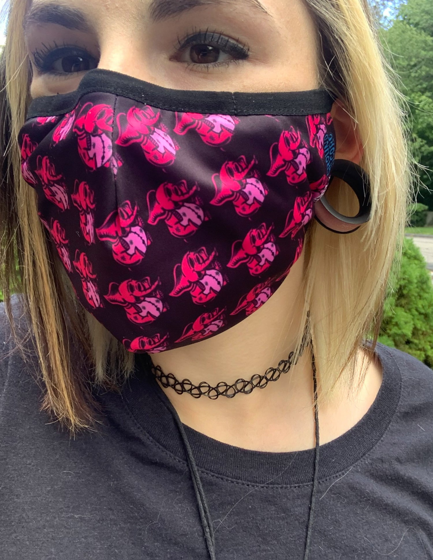 Completely Bonkers - Pink Elephants Mask (Buy 1, Get 1 Free)
