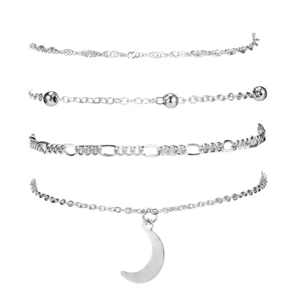 Image of Moonchild anklet set