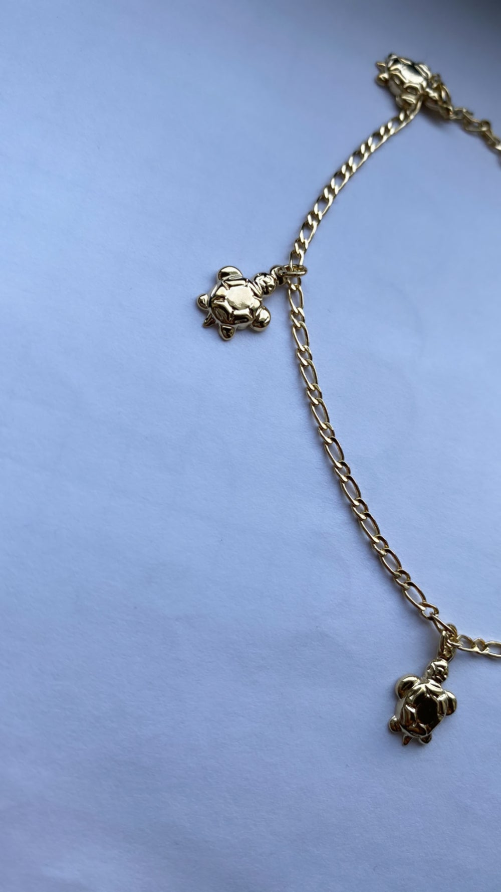 Save the turtles anklet
