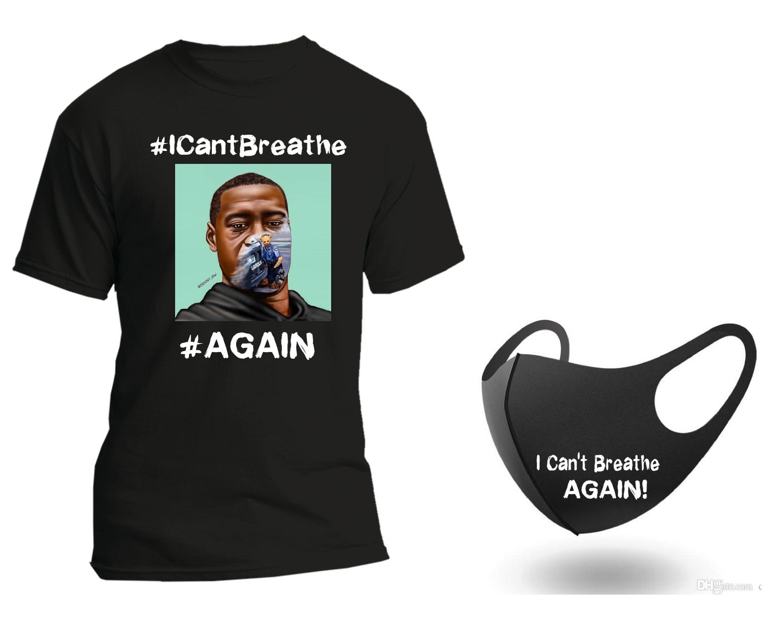 Image of I Can't Breath Again