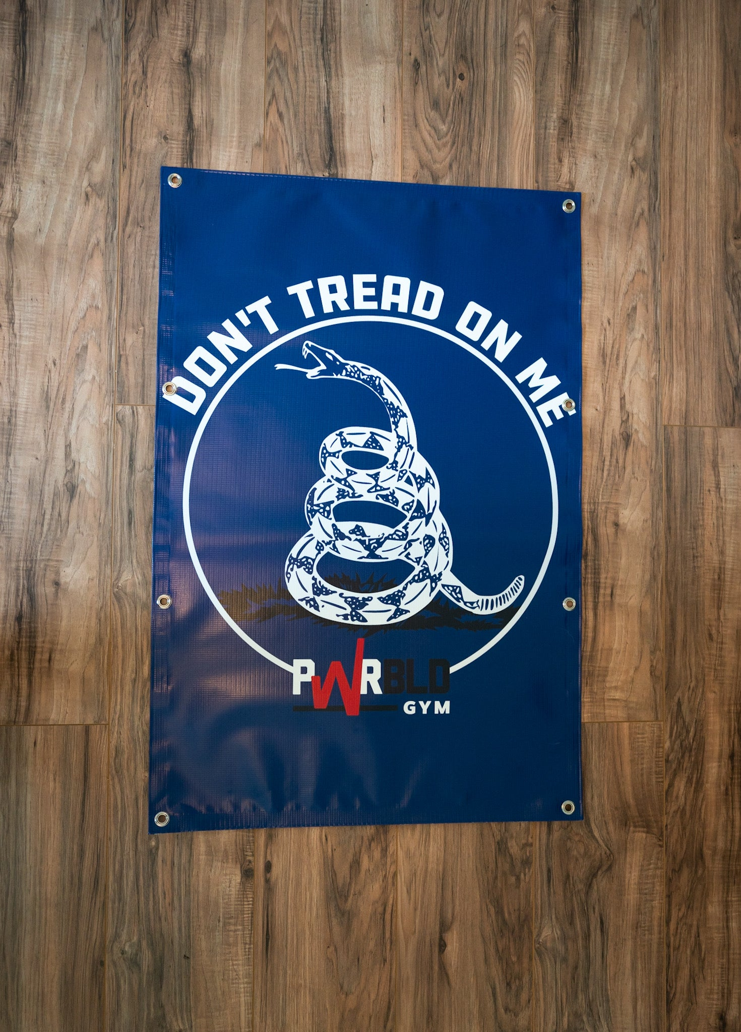Image of DONT TREAD ON ME BANNER