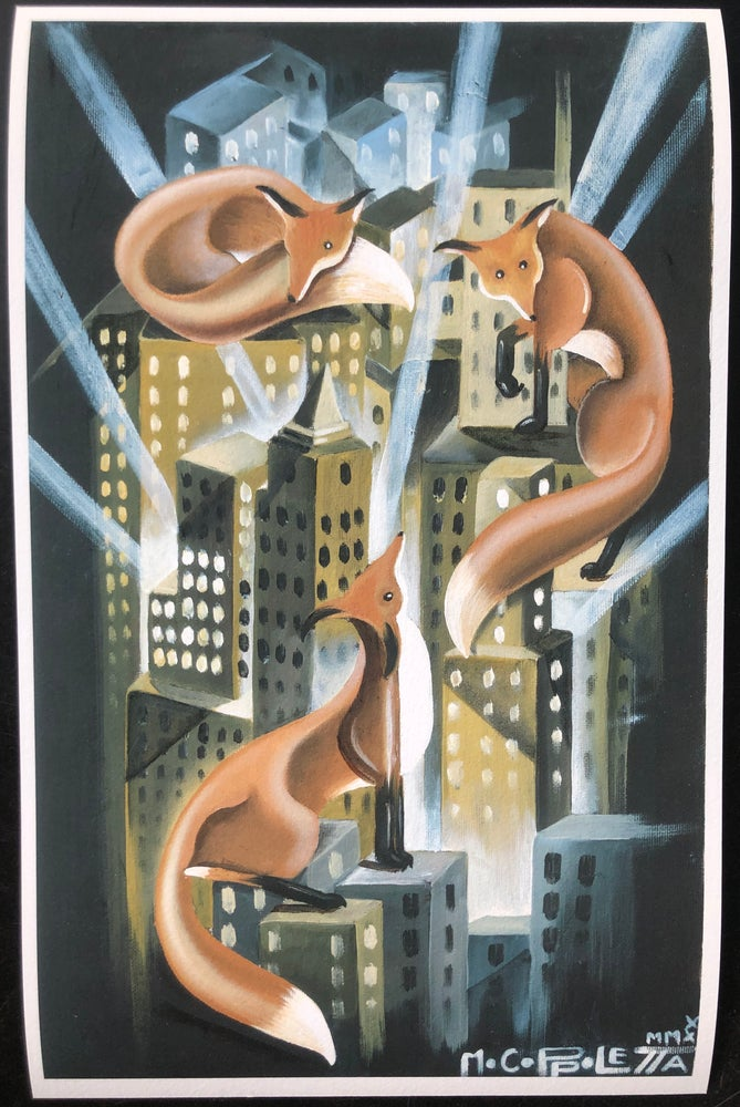 Image of Mo Coppoletta City Foxes Print