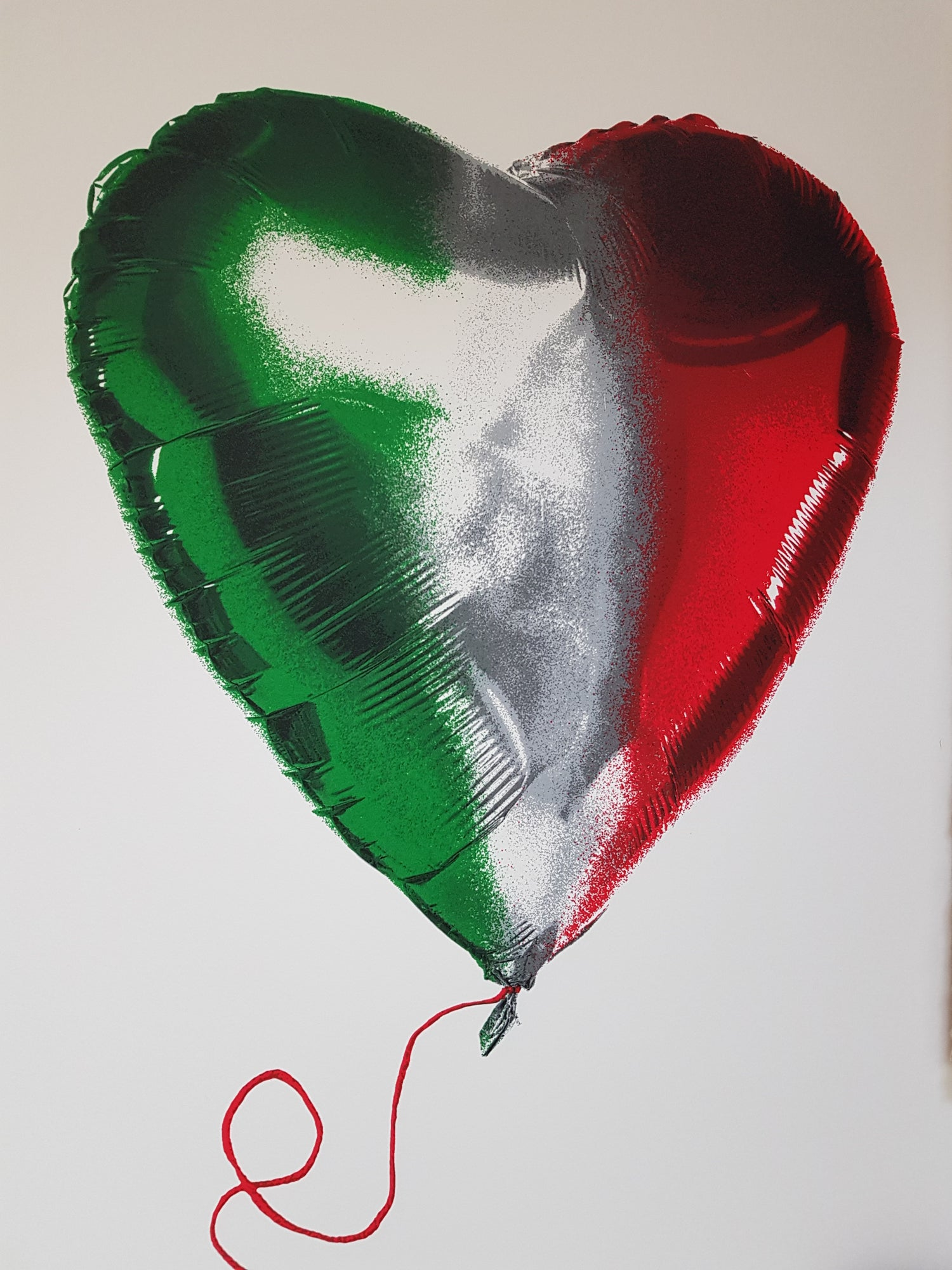 "Image of MR BRAINWASH ""I LOVE ITALY"" - LTD ED 300 - 76CM X 56CM"