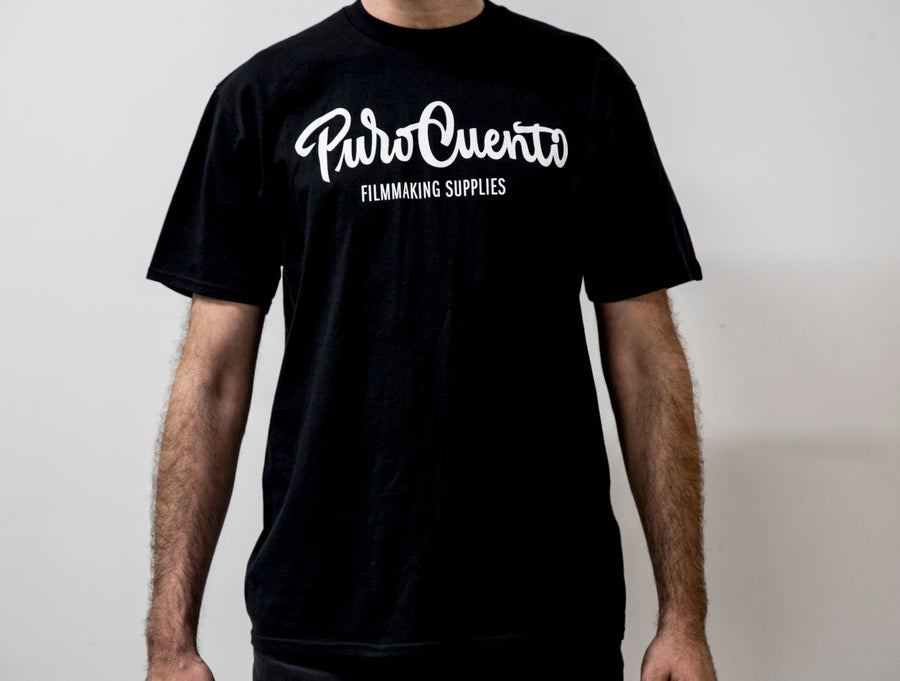 "Image of ""PuroCuento"" Black T"