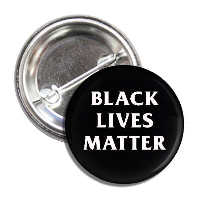 Image of Black Lives Matter Pinback Button