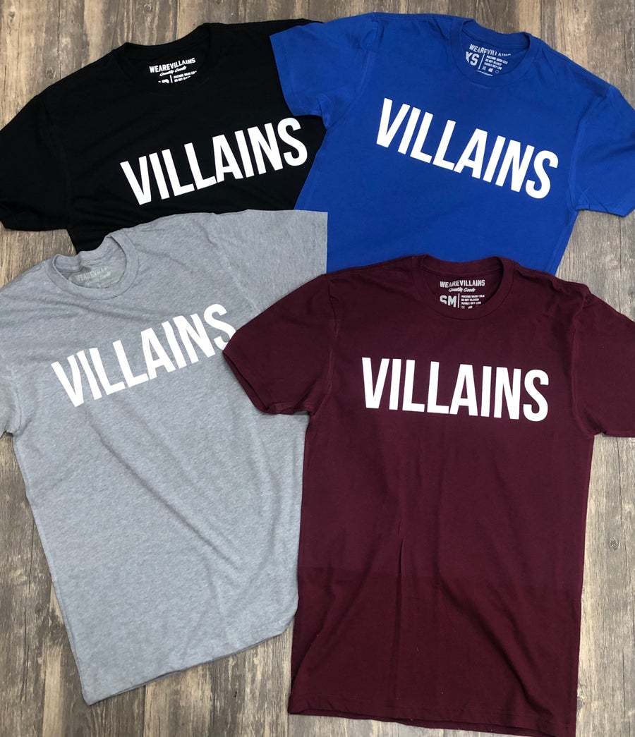 Image of VILLAINS original tee